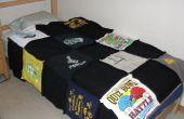 Cómo hacer un tejido de camisetas