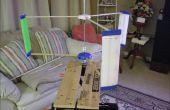 Turbina de viento 3D impreso utiliza bambú