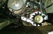Instalar un alternador de 6 voltios en el coche viejo!