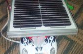 Solar y coche de energía de viento (llegar a 70 km con por satélite