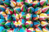 Besos de merengue de Rainbow