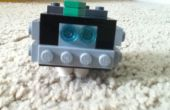 LEGO Minecraft Micromobs: Espanto y limo con chistera armadura