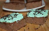 Brownies de menta chocolate