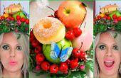BRICOLAJE manualidades fruta tocado sombrero pelo accesorios