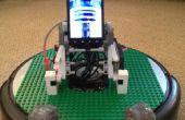 Corte del laser Base de Lego para Robots Roomba!