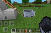 Vagonetas en Minecraft PE