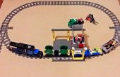 Creación de Custom 90° LEGO tren puntos para su diseño