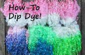 Cómo teñir lana cerraduras la inmersión