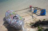 Botella de agua Kayak con estabilizadores