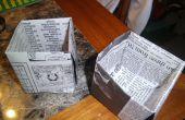 Arrancadores de semilla del periódico!