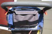 Cómo coser un pequeño bolso de cochecito plegado lateral
