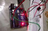 Agarrar la alarma usando arduino + LDR piezoeléctrico zumbador