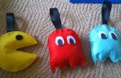 No coser relleno Pac Man juguete/decoración