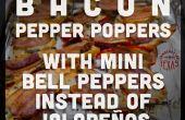 Mini pimiento Baaaacon Poppers (sin Gluten) (Jalapeño gratis)