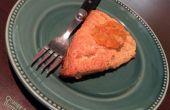 Bollos de mantequilla de mermelada de naranja