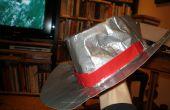 ¿sombrero de vaquero de la cinta del conducto