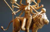 Figura de acción de Durga