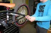 Cambiar un tubo de bicicleta