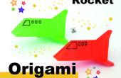 Cómo origami un cohete