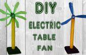 Como hacer ventilador de mesa de botella de refresco plástico ventilador eléctrico Simple DIY