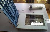 Reasignar un viejo escáner en una sierra de mesa
