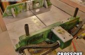 Trineo de mesa Sierra de corte transversal Fallout