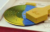 Registros de impresión 3D de un Fisher Price juguete tocadiscos