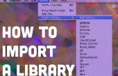 Importar una biblioteca de código para el Arduino