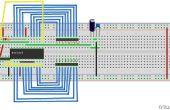 Matriz de LED 8 x 8 DIY con controlador