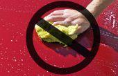 Lavar el coche sin rasguños, esponja, frotando