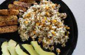 FÁCIL uno pote arroz cocina cocinar: arroz, Quinoa, verduras - libre de Gluten y vegano