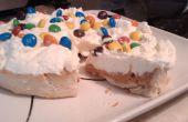 Batida la crema de mantequilla de maní Pie