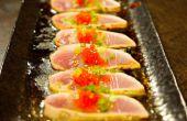 Cómo hacer Sashimi de atún