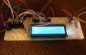 Pantalla LCD de bricolaje I2C con entradas