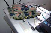 Juguete del RC Arduino PC controlado por 2 cables (señal y tierra)