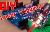 BRICOLAJE | Sistema de seguridad de Arduino fácil láser Tripwire!