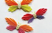 DIY mariposa sonriente pegatinas