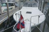 Hacer una cubierta burgee para su barco