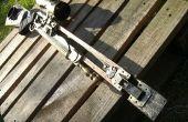Rifle de francotirador distópica de Steampunk (mercurio arco)