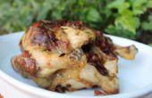 Pollo asado de chorizo mantequilla