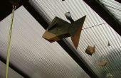 Origami pez móvil