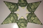 Dollar Bill Origami 5 o 6 punto Money Star