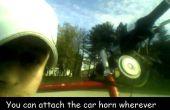 Cómo construir una bocina de bicicleta usando pilas recargables estándar 16