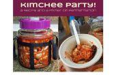 Kimchee partido! Una receta y una cartilla sobre la fermentación