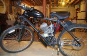 Motorizar una bicicleta