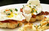 Cheddar Bay huevos Benedicto