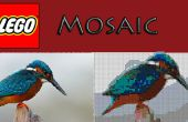 Crear fácilmente un mosaico Lego de nada!