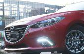 Instalar luces de LED diurna Mazda 3