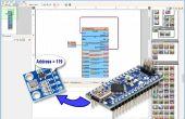Busque el Bus Arduino I2C dispositivos I2C conectados con Visuino