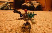 Como hacer un Lego Droid que parece un poco como un centauro
